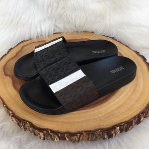 Michael Kors slide sandals LIKE NEW